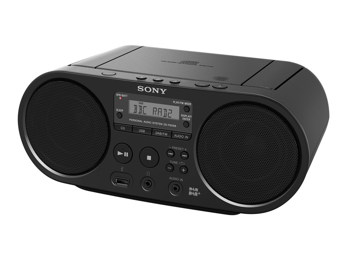 Sony ZS-PS55B - Ghettoblaster