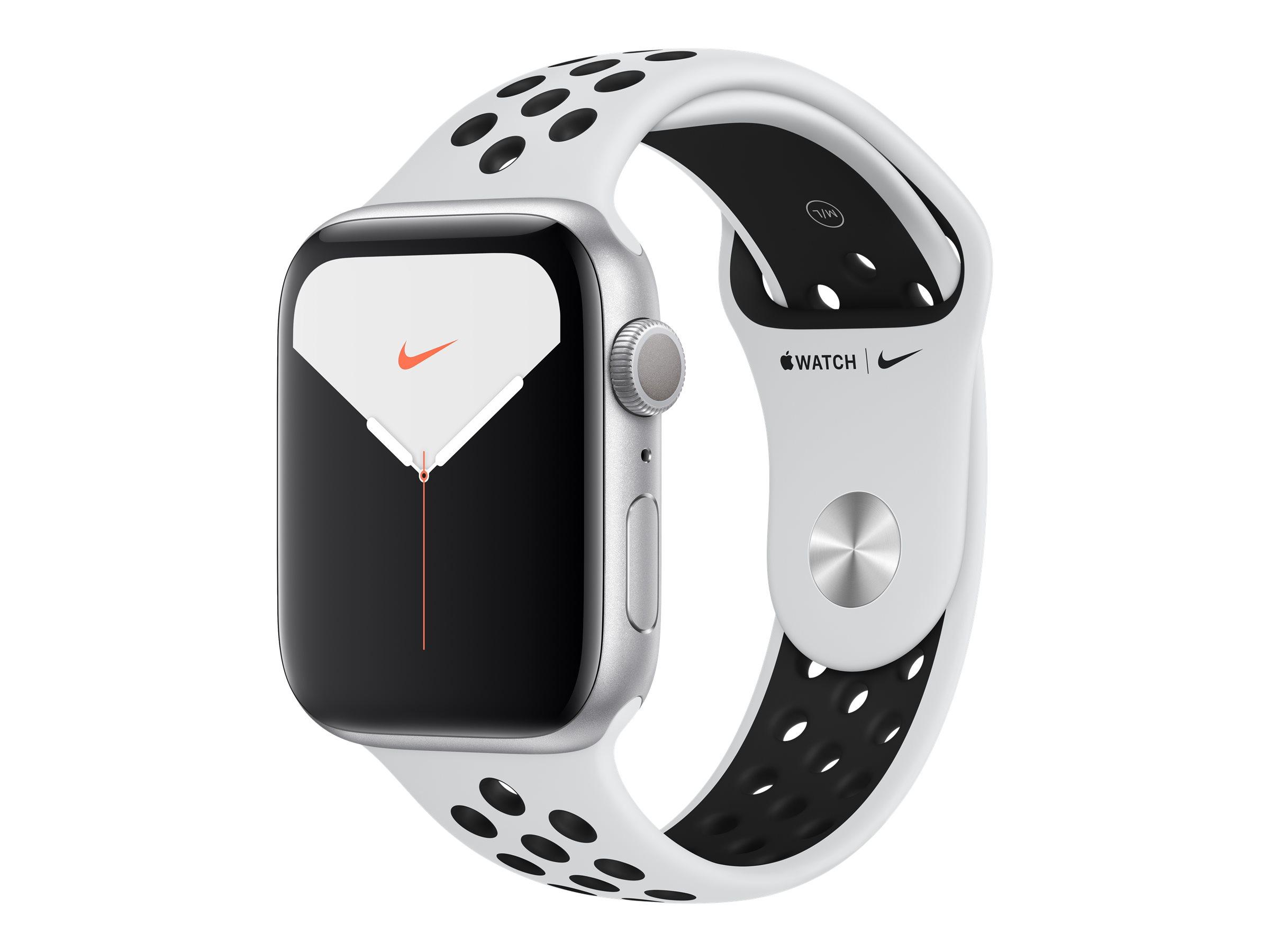 Apple Watch Nike Series 5 (GPS) - 44 mm - Aluminium, Silber