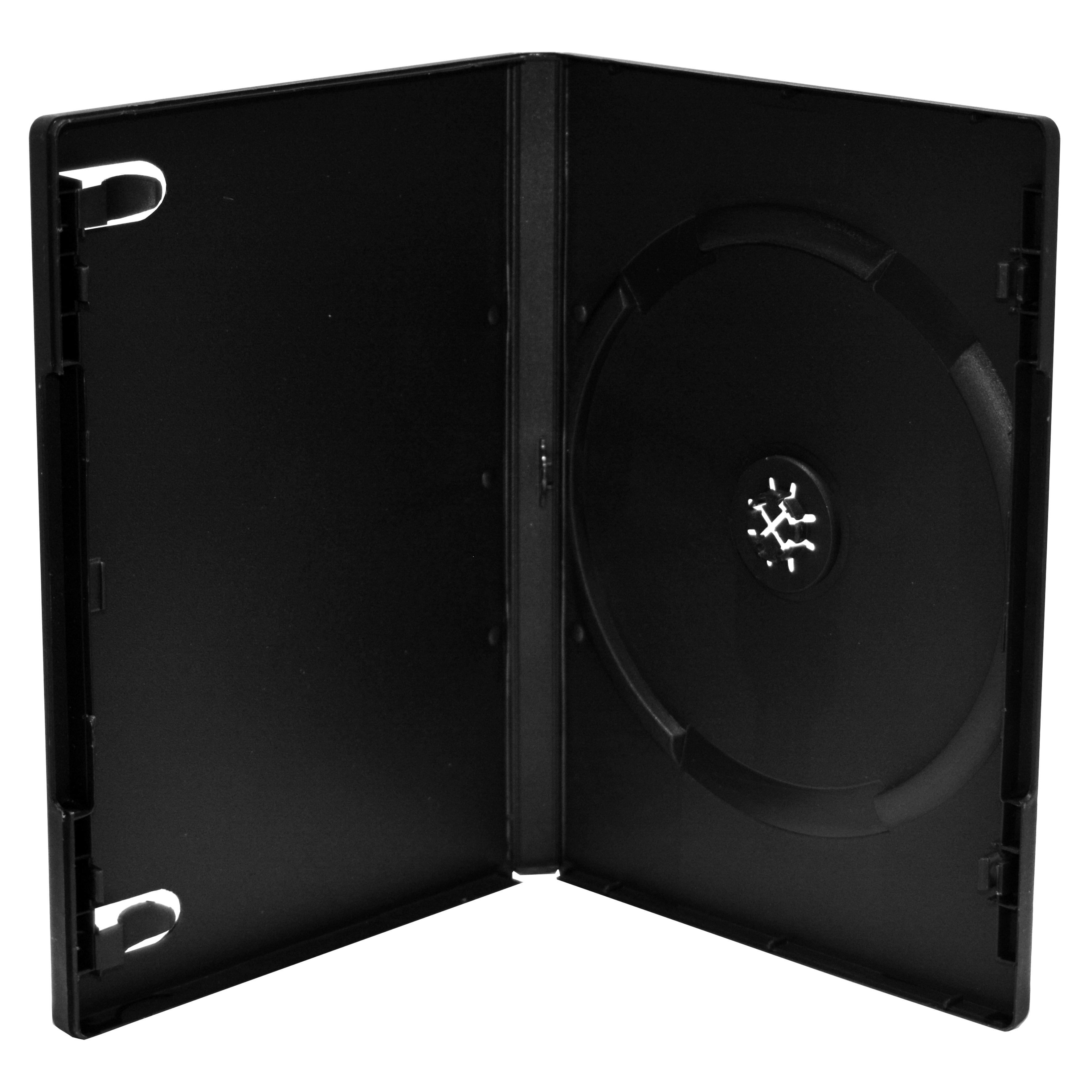 MEDIARANGE BOX11-M - DVD-Hülle - 1 Disks - Schwarz - Kunststoff - 136 mm - 14 mm