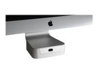 10043 21.5Zoll Weiß Flachbildschirm-Tischhalterung