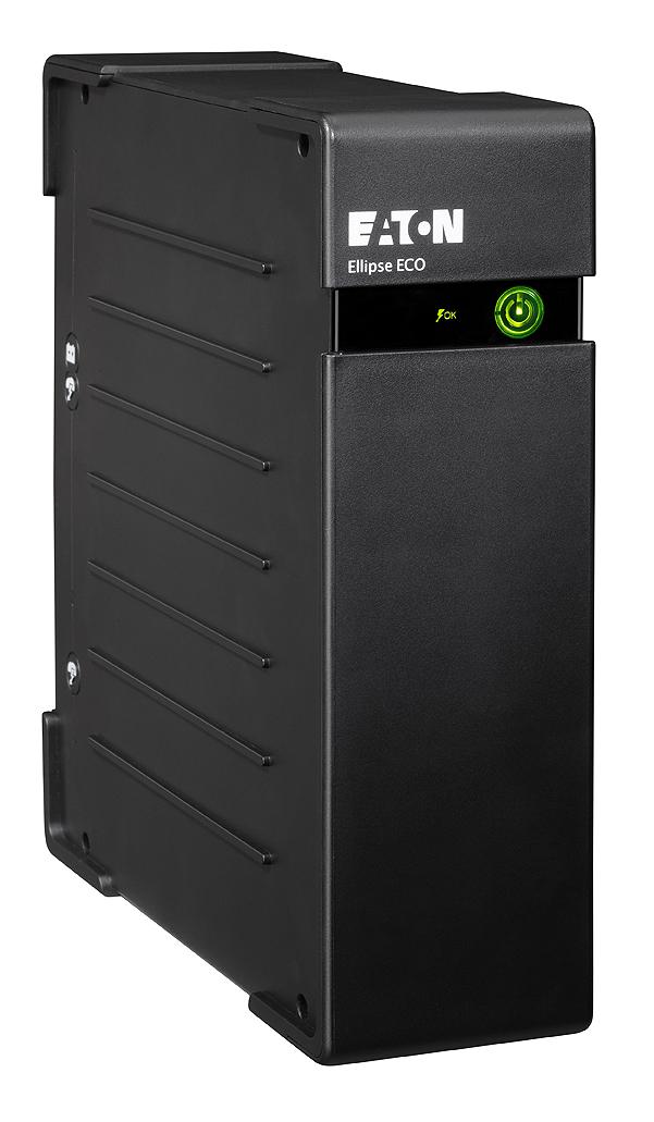 Eaton Ellipse ECO 500 DIN 500VA 4AC-Ausgänge Rackmount Schwarz Unterbrechungsfreie Stromversorgung (UPS)