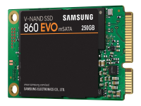 860 EVO Solid State Drive (SSD) mSATA 250 GB SATA