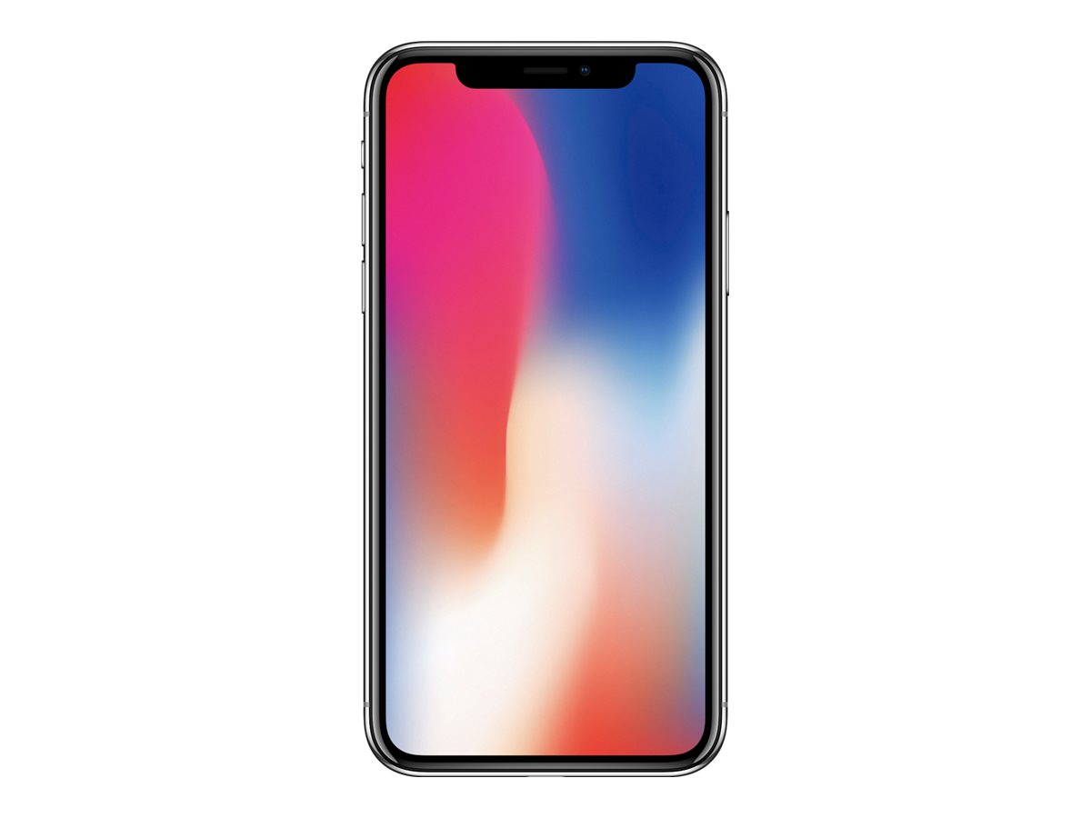 Apple iPhone X - Mobiltelefon - 12 MP 64 GB - Grau