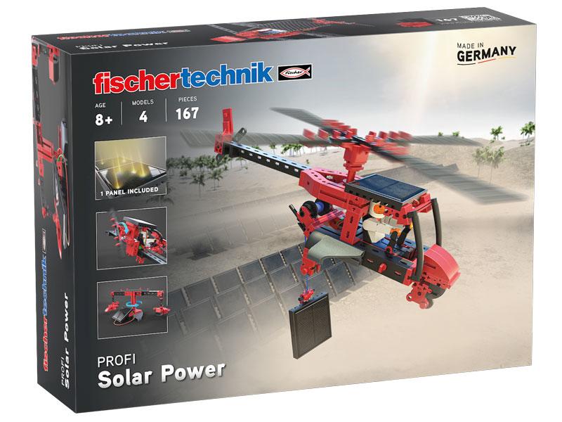 Vorschau: fischertechnik Solar Power - Multibaukasten - Junge