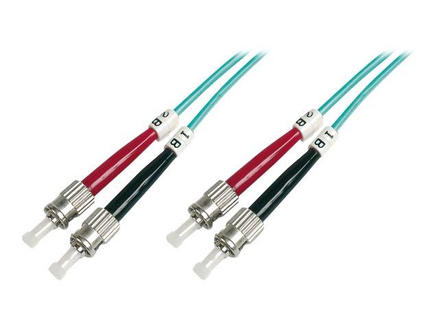 DIGITUS Patch-Kabel - ST multi-mode (M) bis ST multi-mode (M)