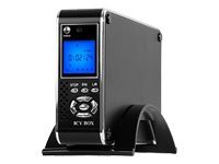 RaidSonic ICY BOX IB-MP302-B - Digitaler AV-Player