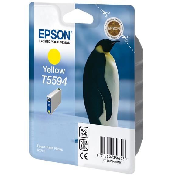 Epson T5594 - Druckerpatrone - 1 x Gelb