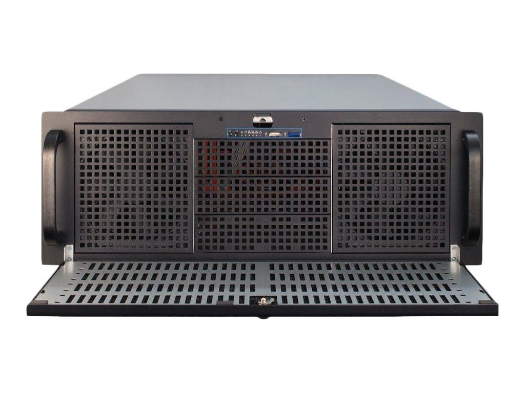 Inter-Tech IPC 4U-4129-N - Rack-Montage - 4U - SSI EEB - ohne Netzteil (ATX)