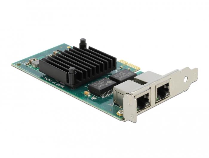 Vorschau: Delock 88502 - Eingebaut - Verkabelt - PCI Express - Ethernet - 4000 Mbit/s