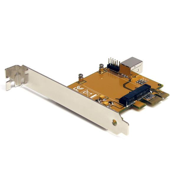 StarTech.com PCI Express auf Mini PCI Express Adapter Karte