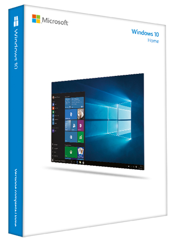Microsoft Windows 10 Home - Box-Pack - 1 Lizenz