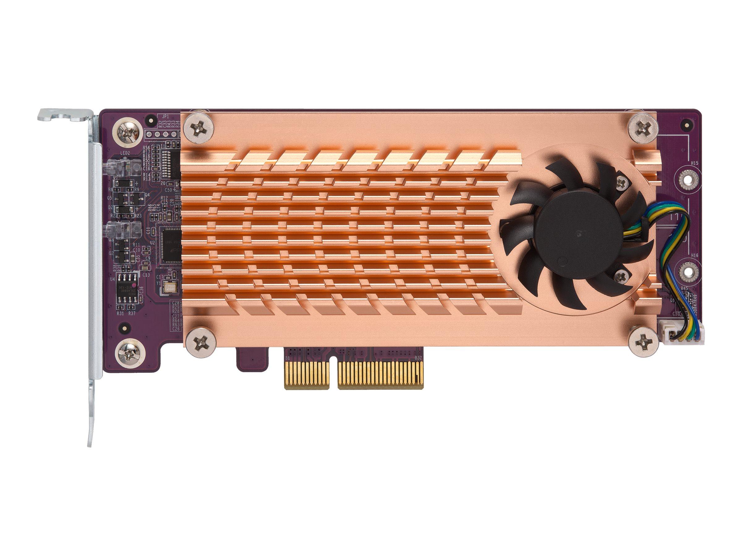 QNAP QM2-2S-220A - Speicher-Controller - SATA Low-Profile