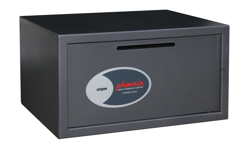 Phoenix Safe Phoenix VELA DEPOSIT - Graphit - Metallisch - Schlüssel - 34 l - Stahl - 450 mm - 365 mm