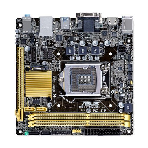 ASUS H81I-PLUS Intel H81 LGA 1150 (Socket H3) Mini ITX Mainboard