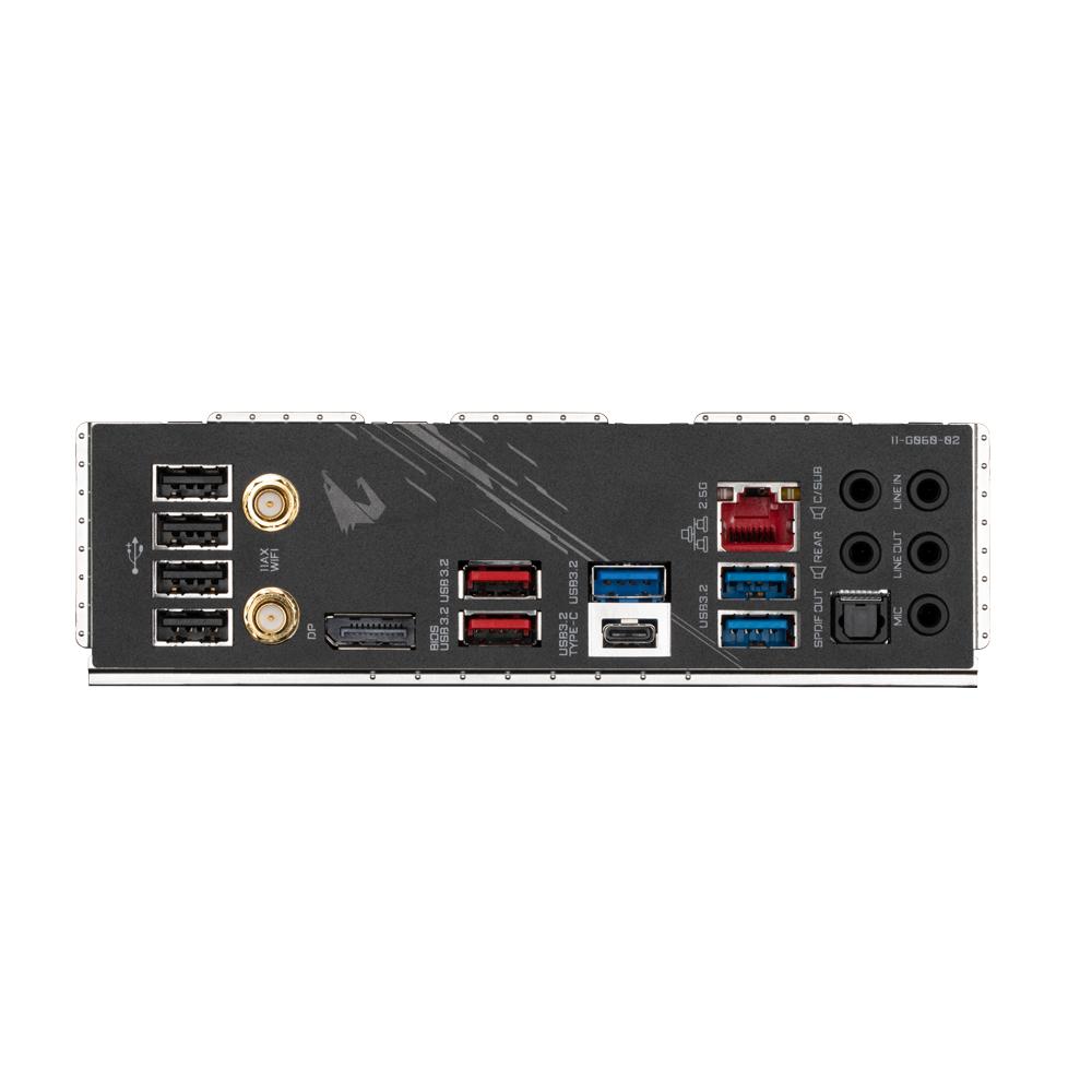Gigabyte Z590 AORUS ELITE AX - 1.0 - Motherboard - ATX - LGA1200-Sockel - Z590 - USB-C Gen2, USB 3.2 Gen 1, USB 3.2 Gen 2, USB-C Gen 2x2 - 2.5 Gigabit LAN, Wi-Fi - Onboard-Grafik (CPU erforderlich)