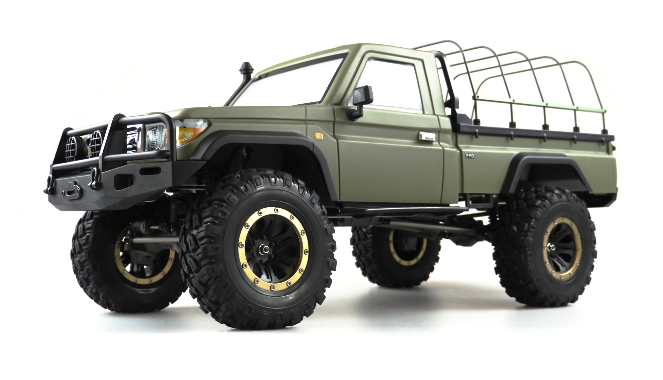 Amewi AMXROCK RCX8BS - Funkgesteuerter (RC) Lastwagen - Elektromotor - 1:8 - Betriebsbereit (RTR) - Grün - Junge/Mädchen