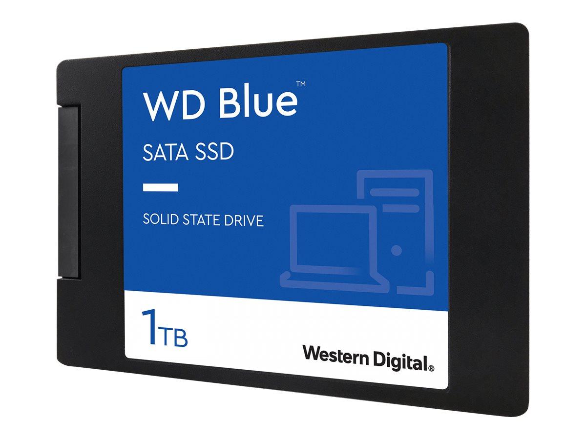 """WD Blue 3D NAND SATA SSD WDS100T2B0A - 1 TB SSD - intern - 2.5"""" (6.4 cm)"""