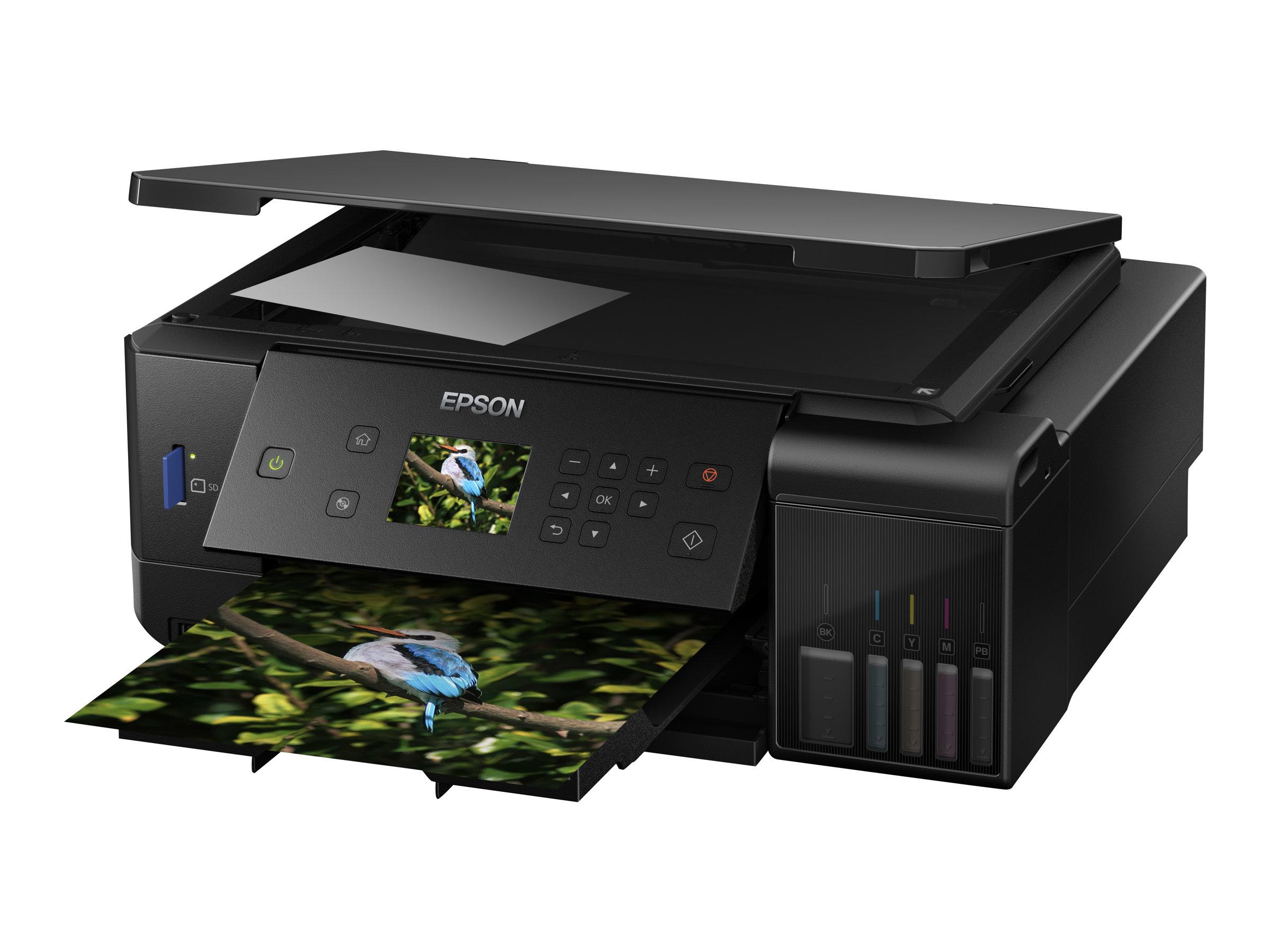 Epson EcoTank ET-7700 - Multifunktionsdrucker - Farbe - Tintenstrahl - A4/Legal (Medien)