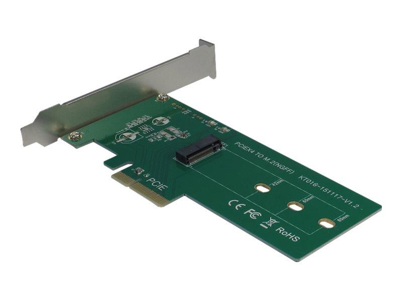 Inter-Tech KT016 - Schnittstellenadapter - M.2 Card Low-Profile