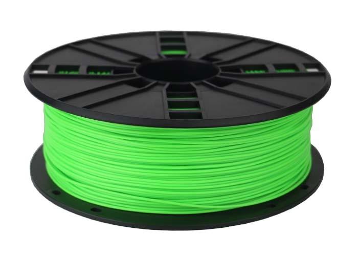 Gembird 3DP-ABS1.75-01-FG - ABS - Fluorescent green - 16 kJ/m² - 45 MPa - 230 °C - RoHS