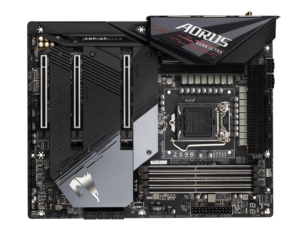 Vorschau: Gigabyte Z590 AORUS ULTRA - 1.0 - Motherboard - ATX - LGA1200-Sockel - Z590 - USB-C Gen2, USB 3.2 Gen 1, USB 3.2 Gen 2, USB-C Gen 2x2 - 2.5 Gigabit LAN, Wi-Fi, Bluetooth - Onboard-Grafik (CPU erforderlich)