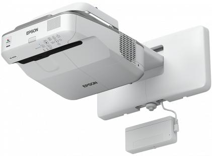 Epson EB-680Wi Wand-Projektor 3200ANSI Lumen 3LCD WXGA (1280x800) Grau - Weiß Beamer