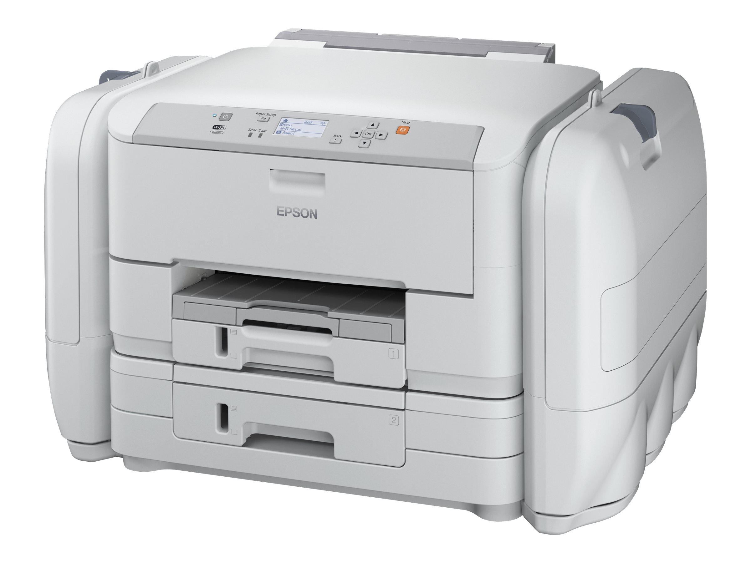 Epson WorkForce Pro WF-R5190 DTW Flex BAM - Drucker - Farbe - Duplex - Tintenstrahl - A4/Legal - 4800 x 1200 dpi - bis zu 34 Seiten/Min. (einfarbig)/