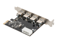 4-Port USB 3.0 PCI Express-Karte