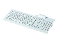 KB SCR2 Tastatur USB Holländisch Grau