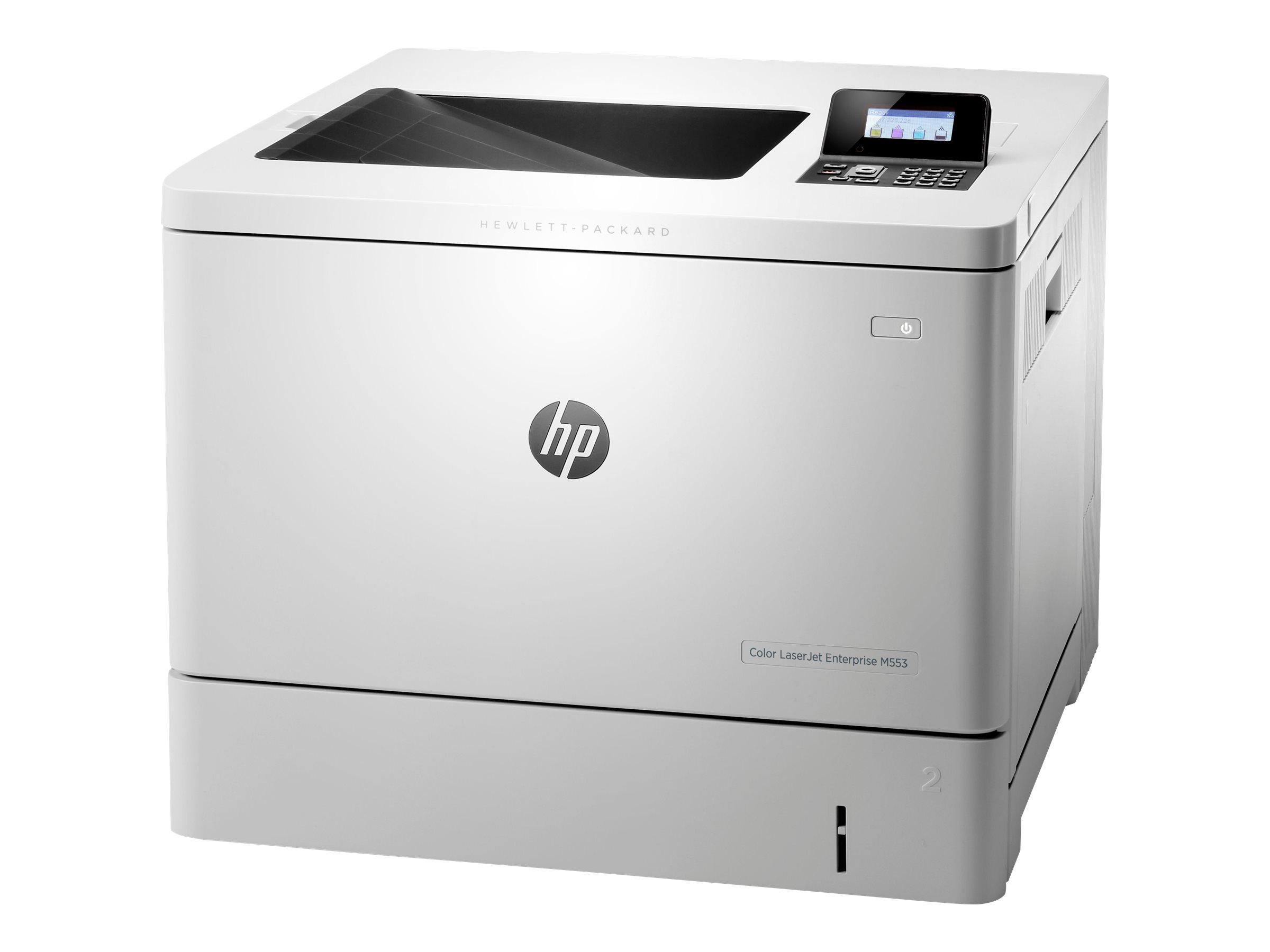 HP Color LaserJet Enterprise M553dn - Drucker - Farbe - Duplex - Laser - A4/Legal - 1200 x 1200 dpi - bis zu 38 Seiten/Min. (einfarbig)/