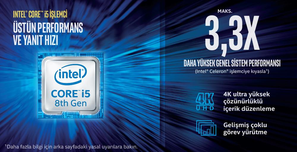 Intel Next Unit of Computing Kit NUC8I5BEH - Barebone