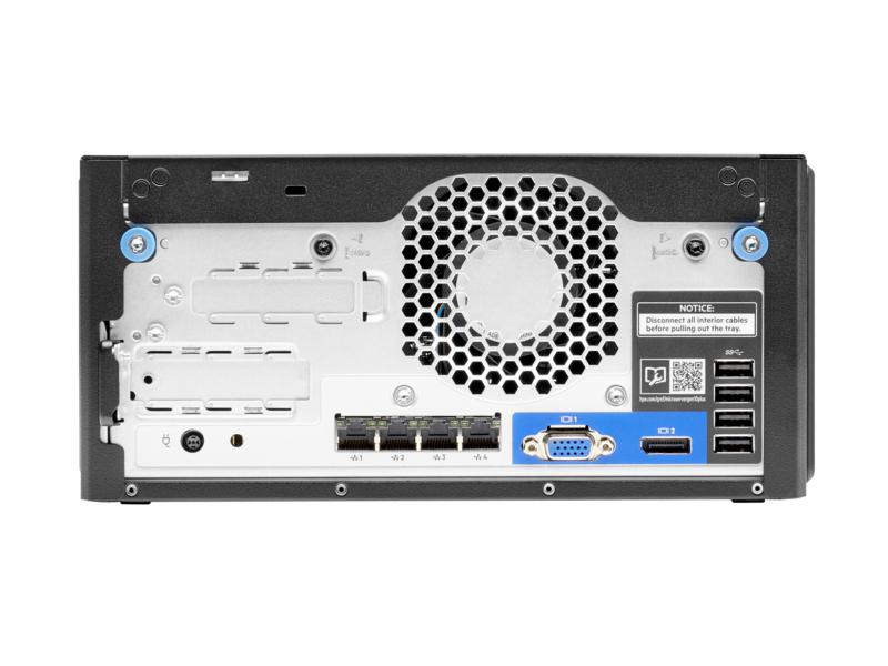 "HPE ProLiant MicroServer Gen10 Plus Performance - Server - Ultra-Micro-Tower - 1-Weg - 1 x Xeon E-2224 / 3.4 GHz - RAM 16 GB - SATA - nicht Hot-Swap-fähig 8.9 cm (3.5"")"