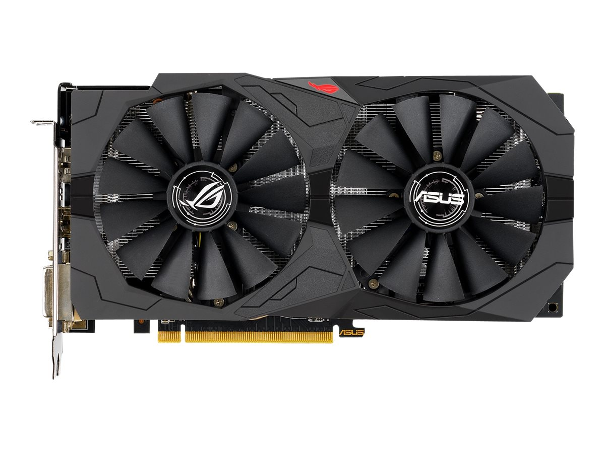 ASUS ROG-STRIX-RX570-O8G-GAMING - OC Edition
