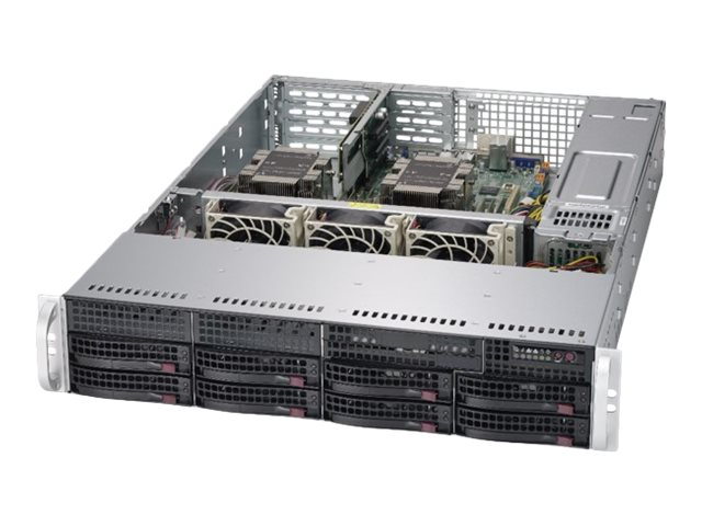 "Supermicro SuperServer 6029P-WTR - Server - Rack-Montage - 2U - zweiweg - RAM 0 GB - SATA - Hot-Swap 8.9 cm (3.5"")"