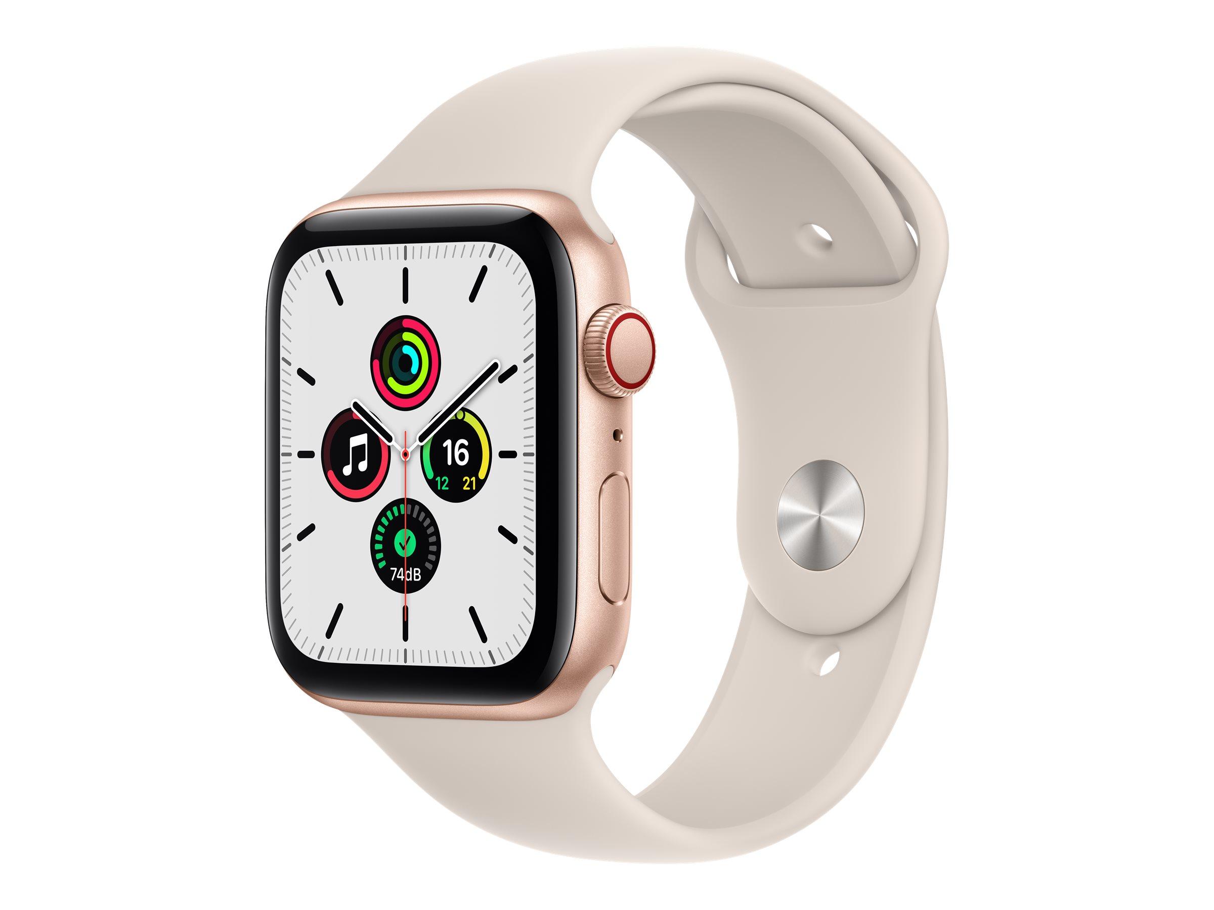 Apple Watch SE (GPS + Cellular) - 44 mm - Gold Aluminium