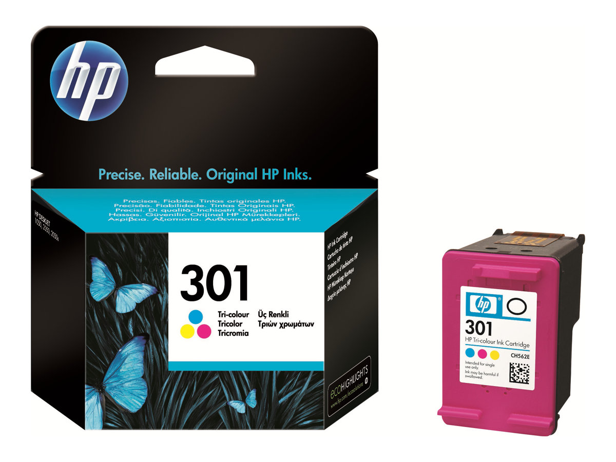 HP 301 - Farbstoffbasiert dreifarbig - Original