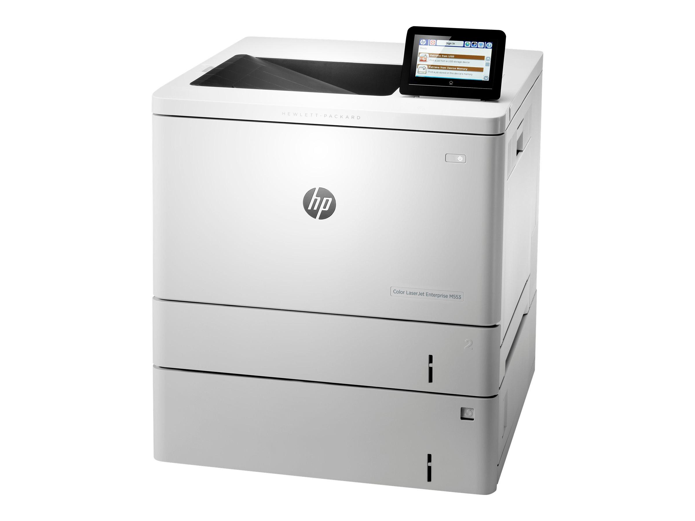 Vorschau: HP Color LaserJet Enterprise M553x - Drucker - Farbe - Duplex - Laser - A4/Legal - 1200 x 1200 dpi - bis zu 38 Seiten/Min. (einfarbig)/