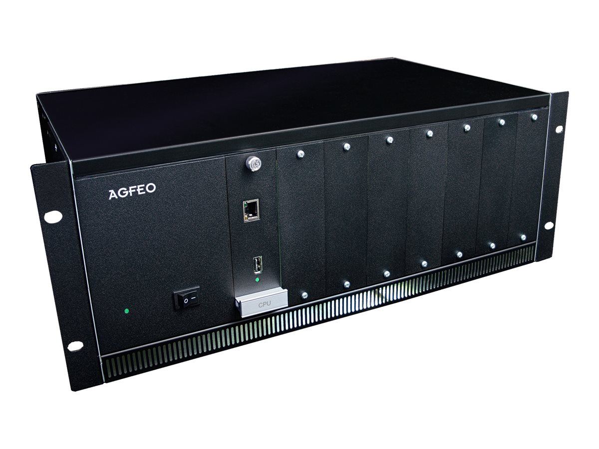 AGFEO ES 770 IT - IP-PBX - 4U - in Rack montierbar