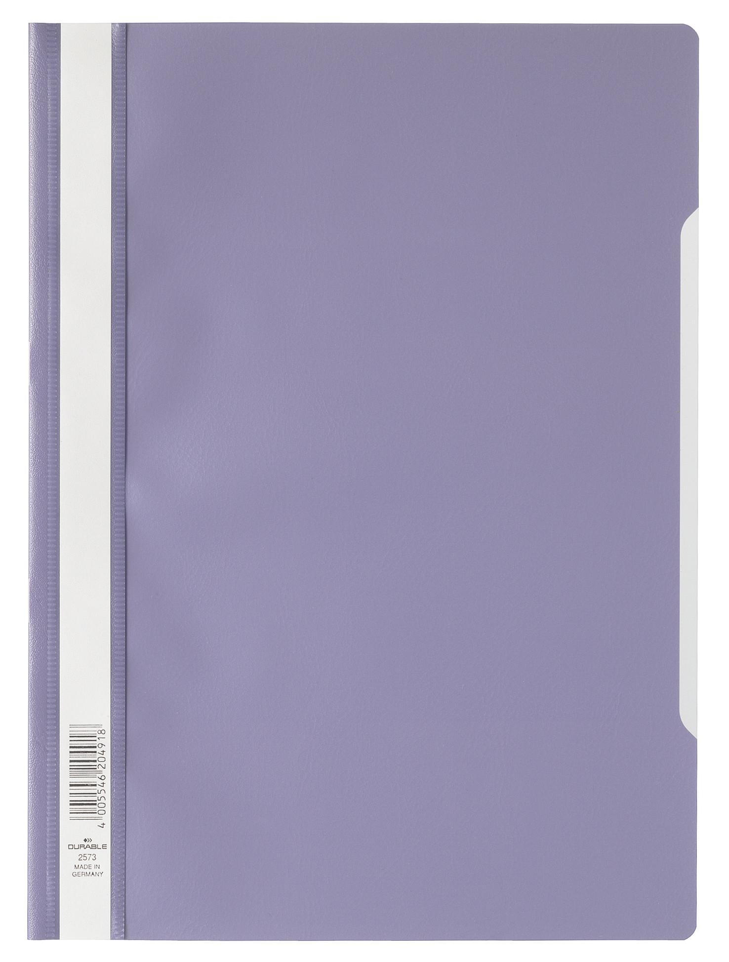 Durable 257312 - Präsentationsmappe - A4 - Polypropylen (PP) - Lila - Matt