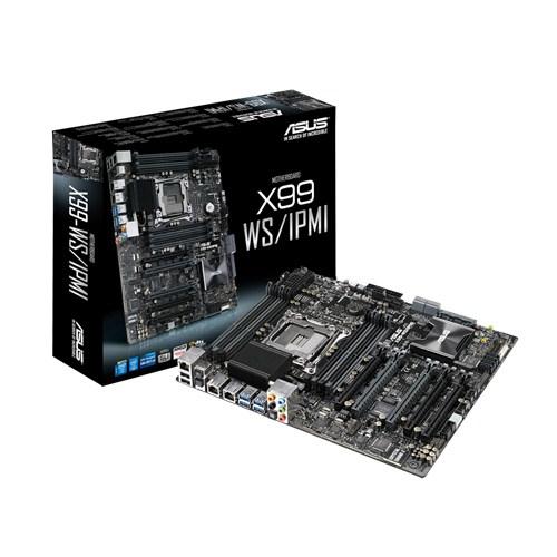 ASUS X99-WS/IPMI Intel X99 LGA 2011-v3 ATX Server-/Workstation-Motherboard