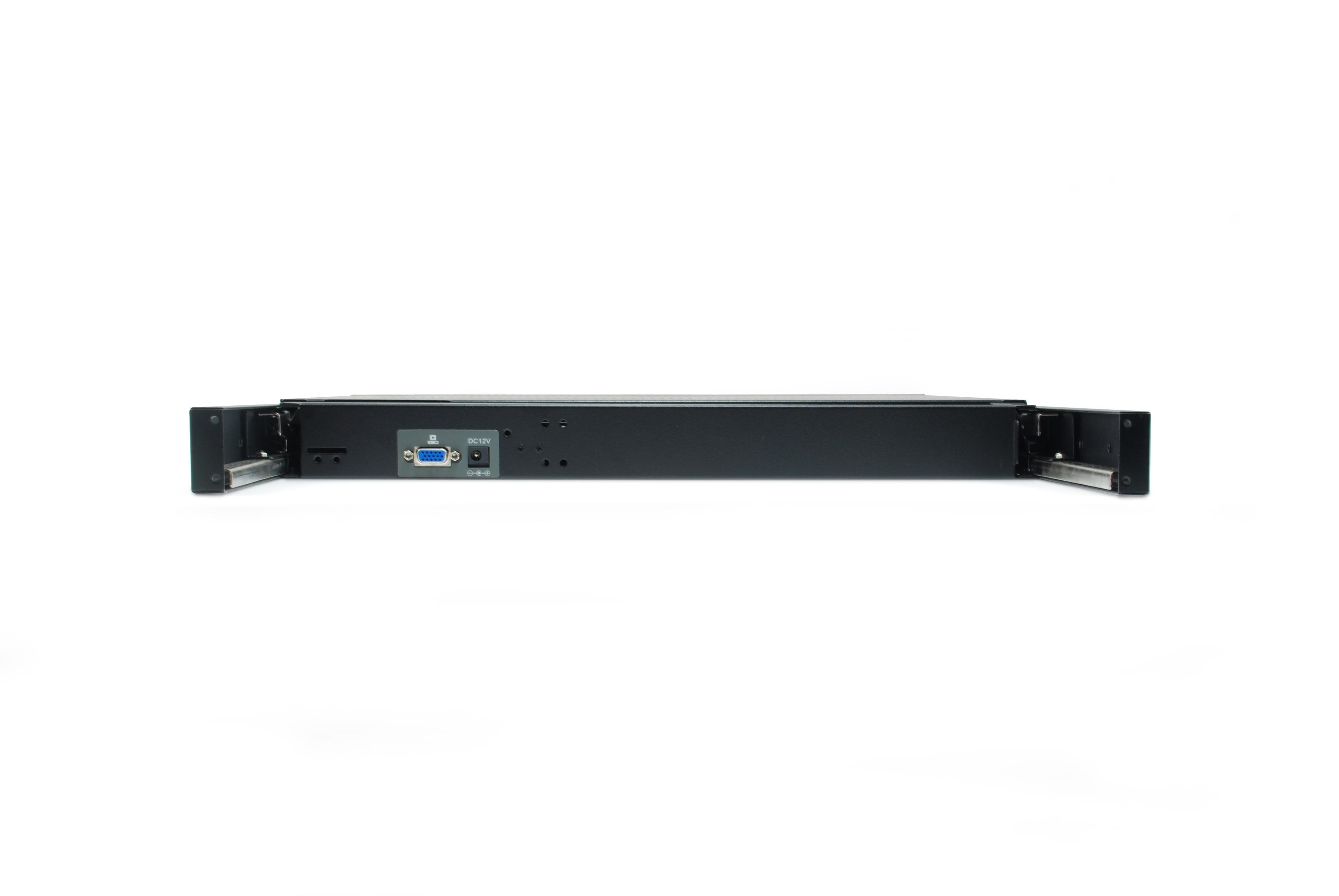 """LevelOne KVM-8901 - KVM-Konsole - PS/2, USB - 48.3 cm (19"""")"""