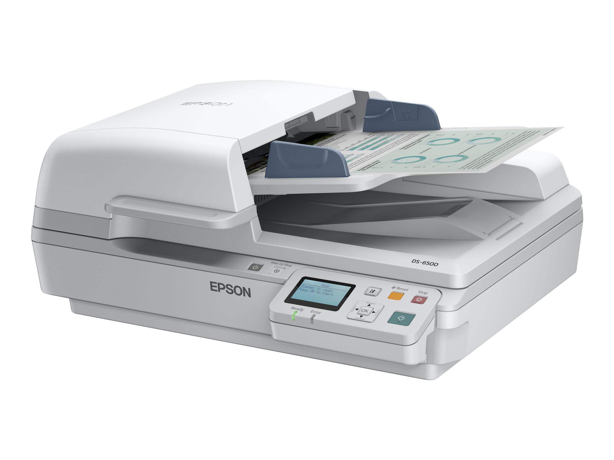 Epson WorkForce DS-7500N - Dokumentenscanner - Duplex - A4 - 1200 dpi x 1200 dpi - bis zu 40 Seiten/Min. (einfarbig)