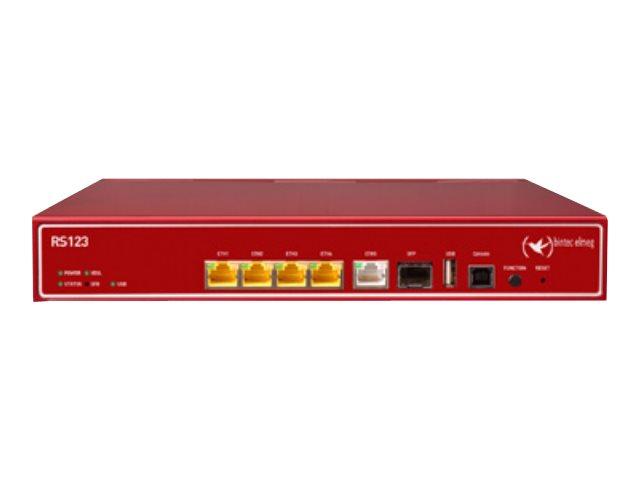 bintec elmeg RS123 - Router - GigE - an Rack montierbar