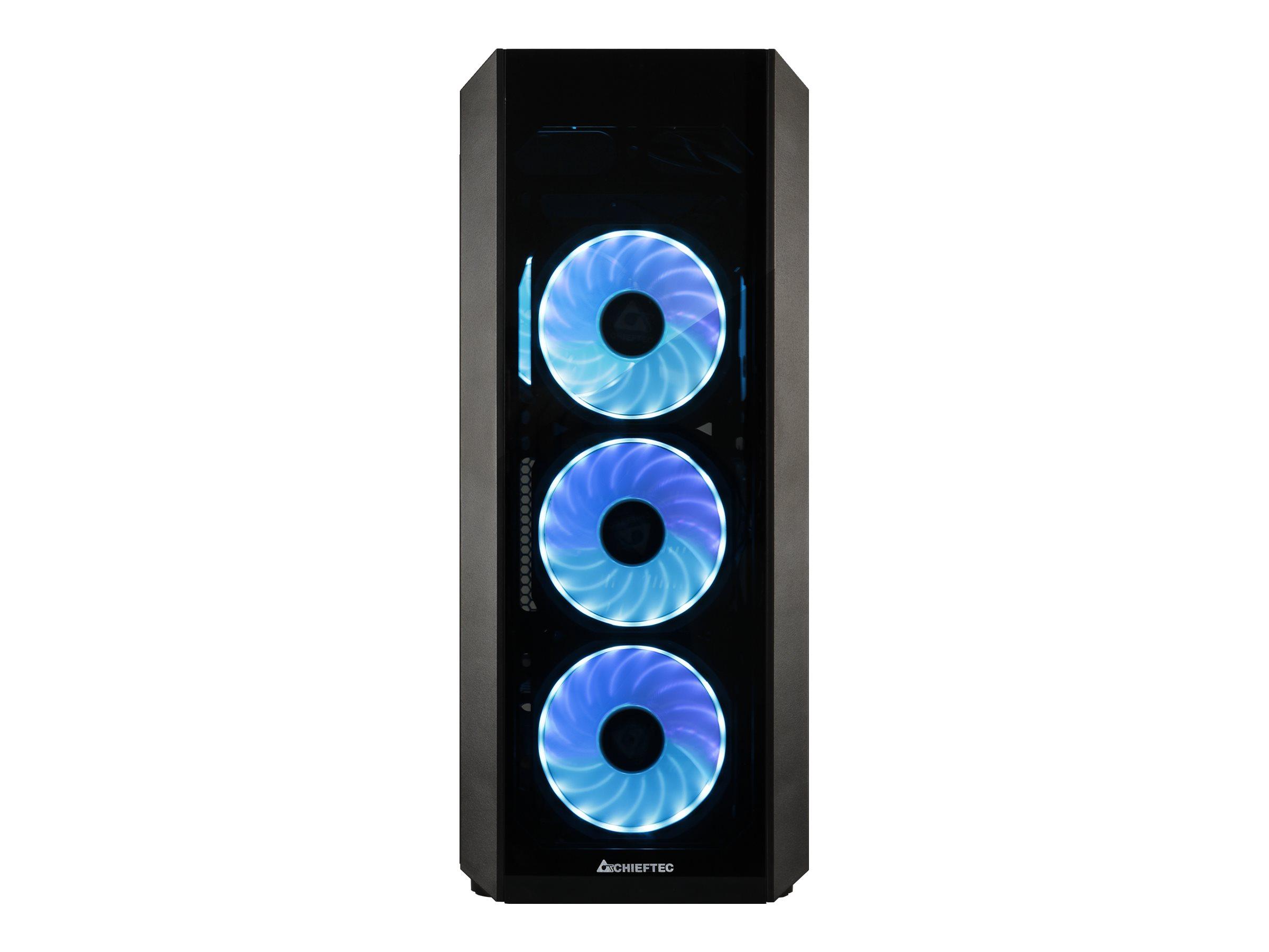 Vorschau: Chieftec Gamer Series SCORPION 3 - Tower - ATX - ohne Netzteil (ATX)