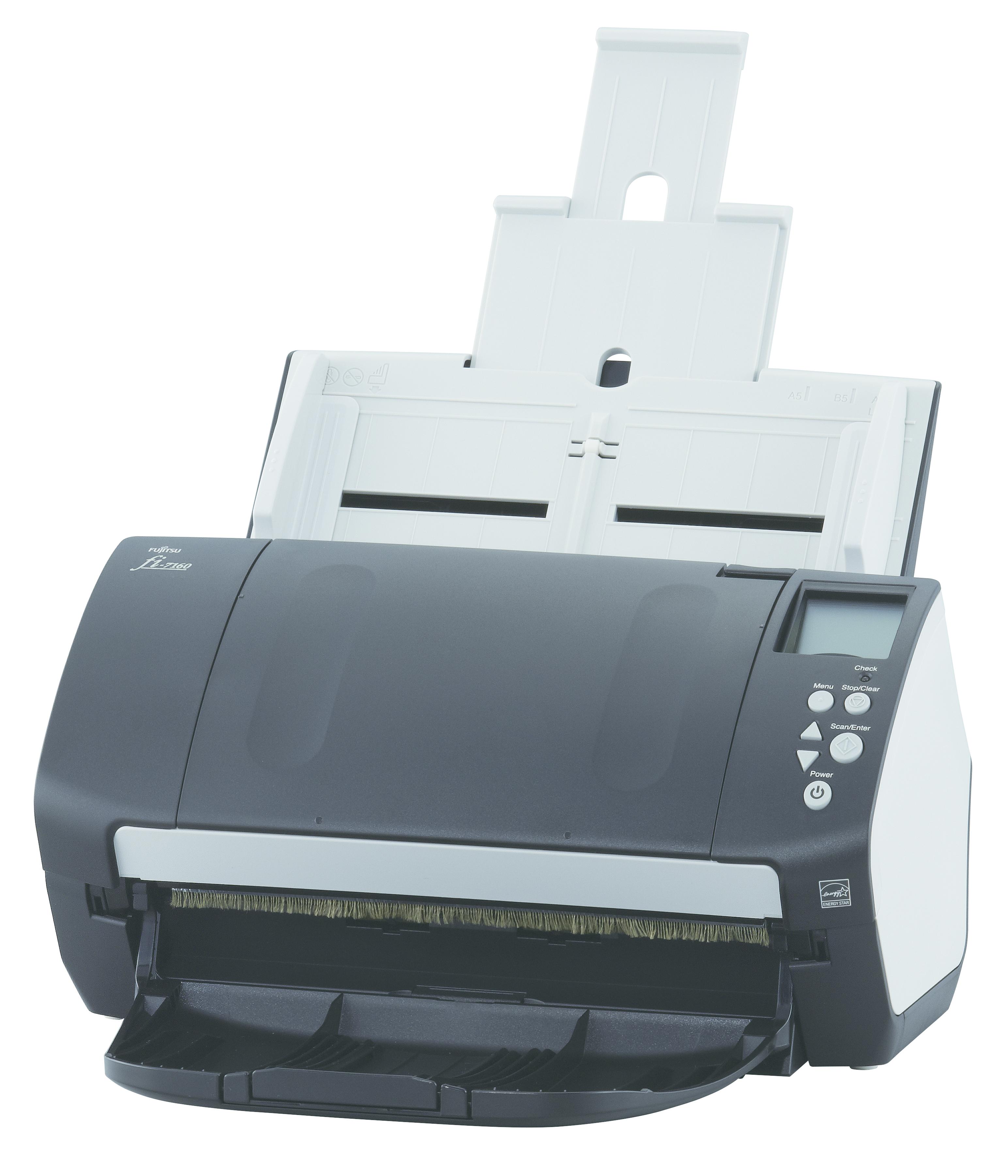 Fujitsu fi-7160 ADF scanner 600 x 600DPI A4 Schwarz - Weiß