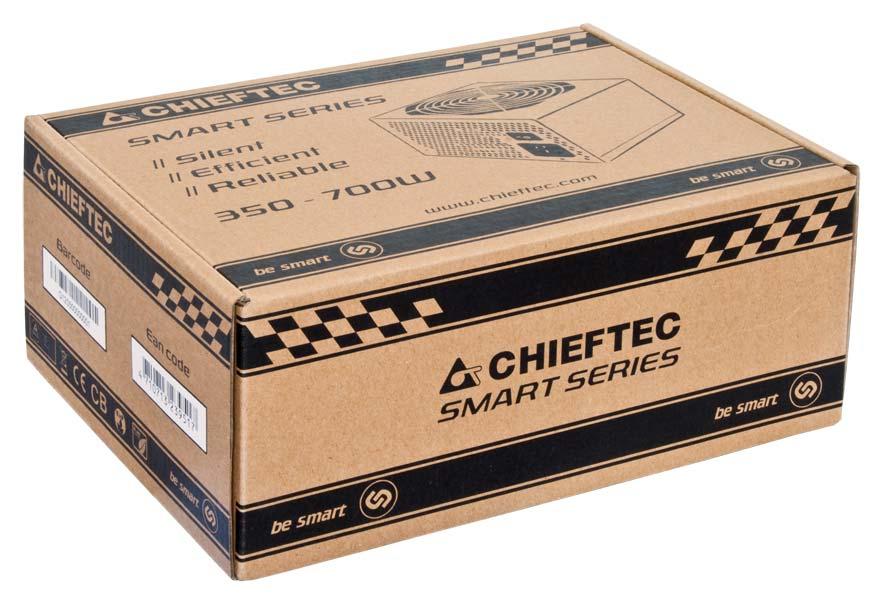 Chieftec GPS-700A8 700W PS2 Schwarz Netzteil