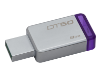 DataTraveler 50 - USB-Flash-Laufwerk - 8 GB