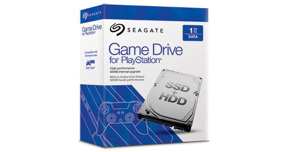 Seagate Game Drive for PlayStation STBD1000101 - Hybrid-Festplatte - 1 TB (8 GB Flash)