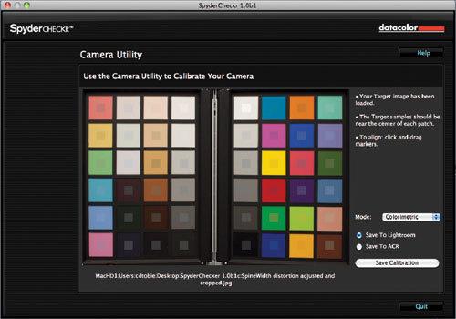 Datacolor SpyderCheckr - Adobe Lightroom v2+ Adobe Photoshop CS3+ - 100 MB - 128 MB
