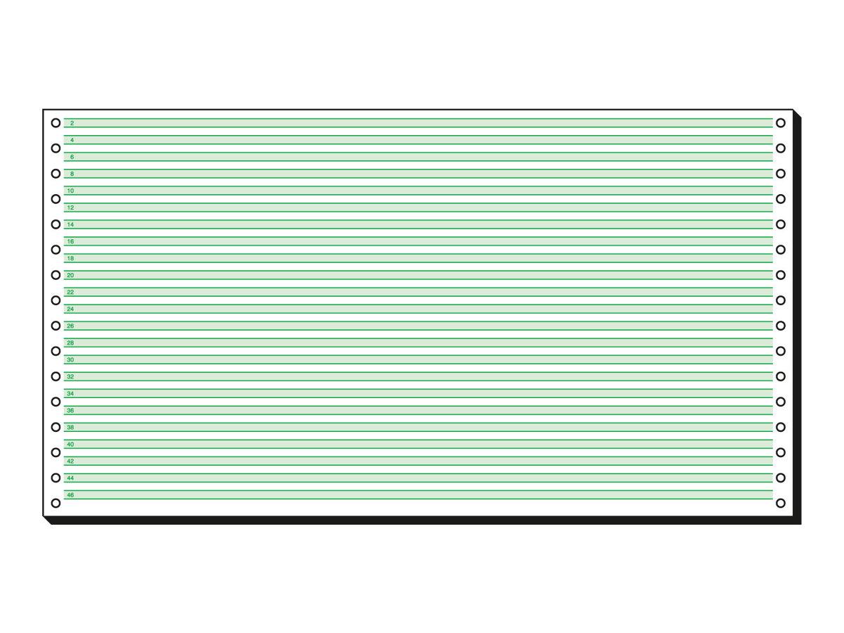 Sigel DIN-Computer paper - Perforiert